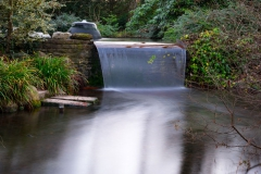Waterfall-garden