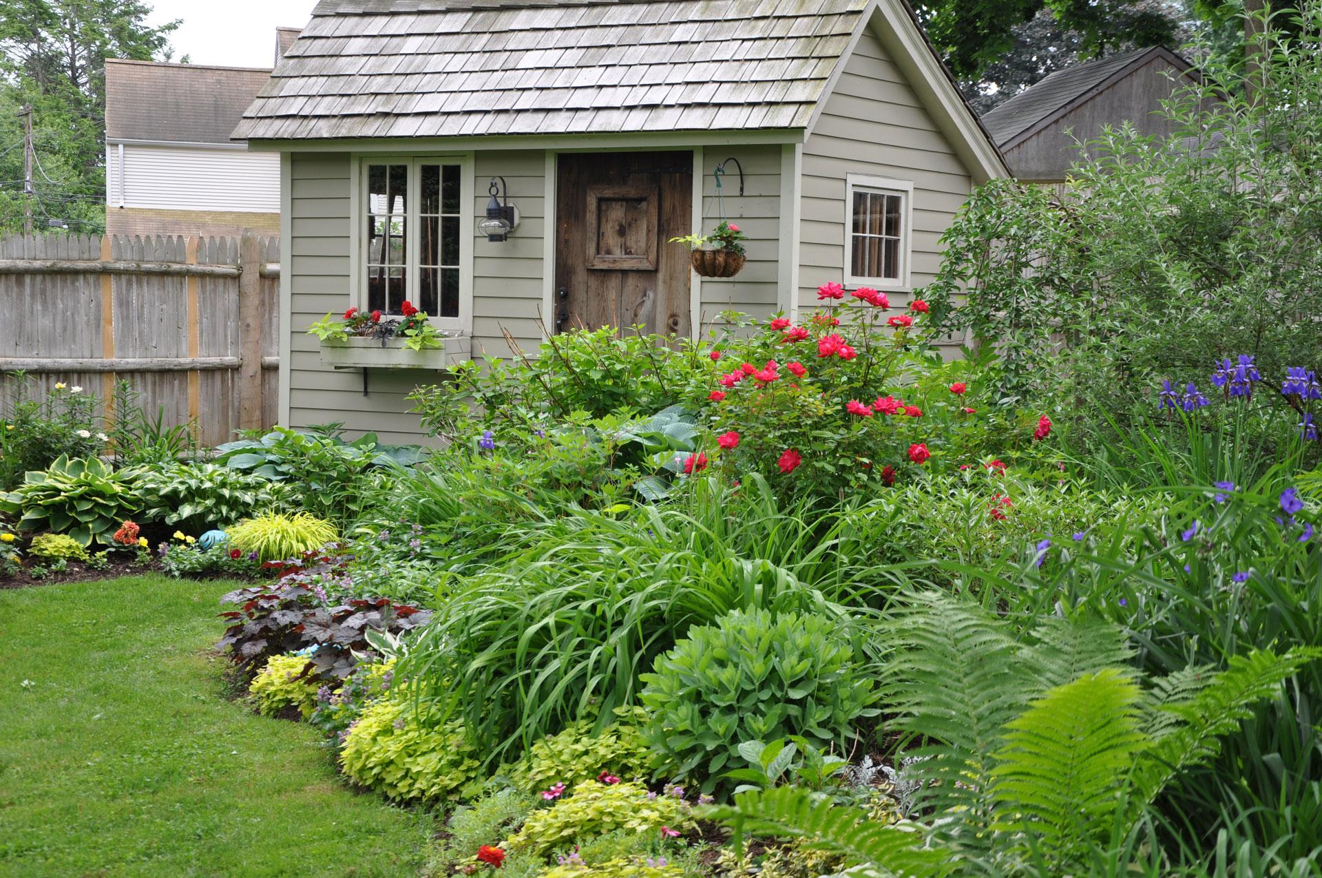 Garden shed, Landscape Design