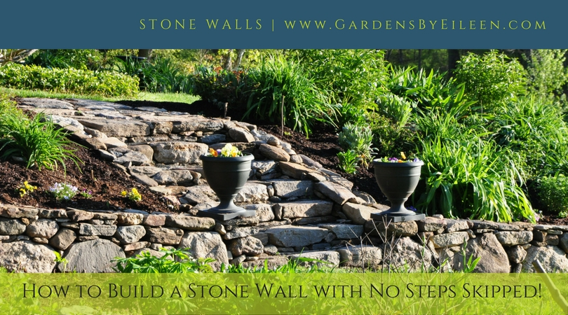 How to build a stone wall
